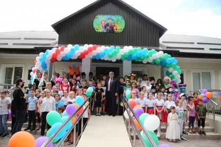 Глава КБР Казбек Коков принял участие в открытии Центра для детей  с ограниченными возможностями здоровья