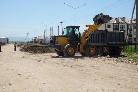 В Чегеме ремонтируют две улицы