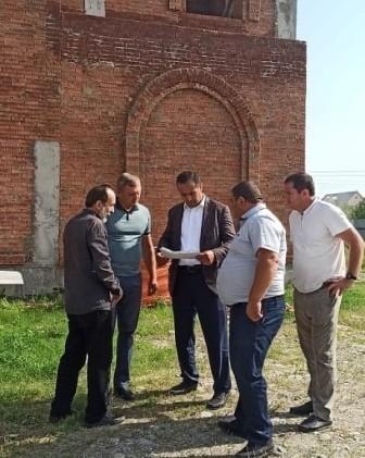 В Баксане ведется строительство православной церкви