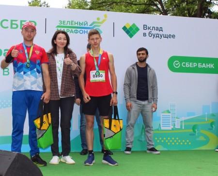 В Нальчике прошёл Зелёный марафон