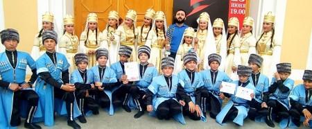 Детский ансамбль Баксанского района победил на международном конкурсе