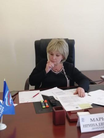 Депутат Госдумы в ходе региональной недели провела ряд тематических приемов граждан