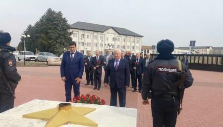 Зольский и Черекский районы - побратимы