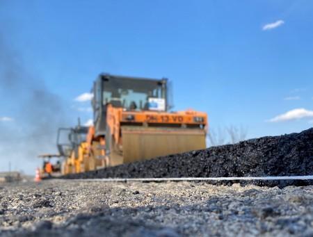В Верхней Жемтале идёт ремонт дороги