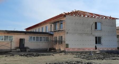 В Залукокоаже идет капремонт первой школы