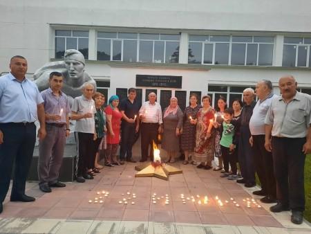 Черекский район провел акцию «Свеча памяти»