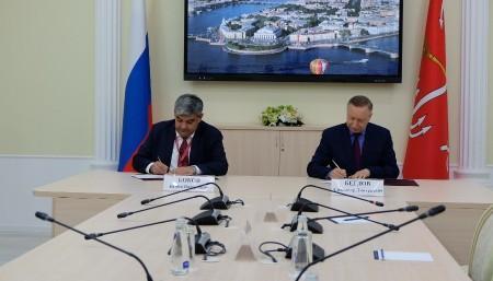 ПМЭФ-21: Глава КБР Казбек Коков подписал план всестороннего сотрудничества с Правительством Санкт-Петербурга