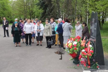 В Майском вспоминали о подвиге ликвидаторов аварии на ЧАЭС