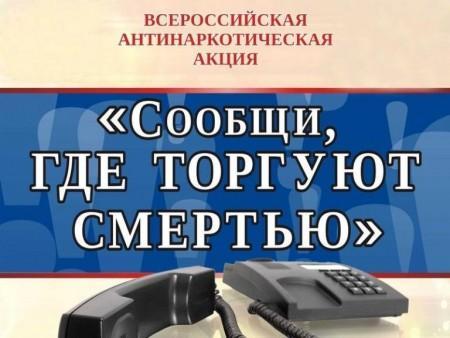 В КБР подвели итоги первого этапа акции «Сообщи, где торгуют смертью»