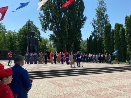 В Терском районе прошла «Свеча памяти»