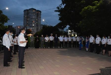 В Нальчике состоялась всероссийская героико-патриотическая акция «Свеча памяти»