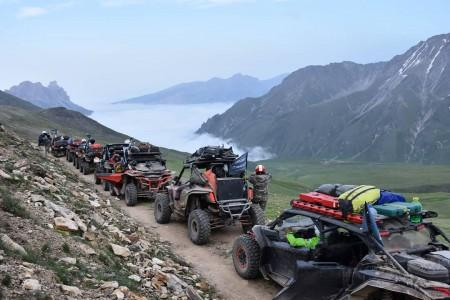 В Кабардино-Балкарии стартовала экспедиция на квадроциклах