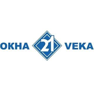 логотип компании Окна 21 века